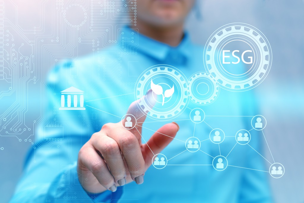 Enterprise,management,according,to,esg,standards,for,investment.,future,technologies