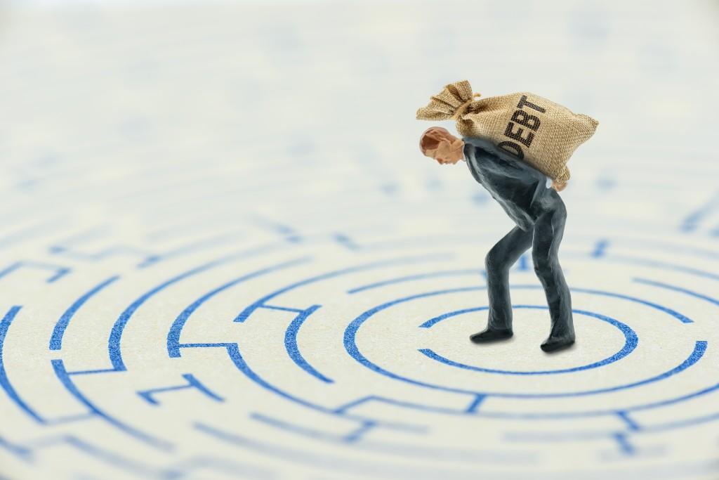 Crisis,of,high,burden,of,consumer,debt,,financial,concept,: