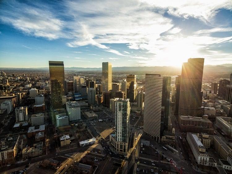 Denver From Above