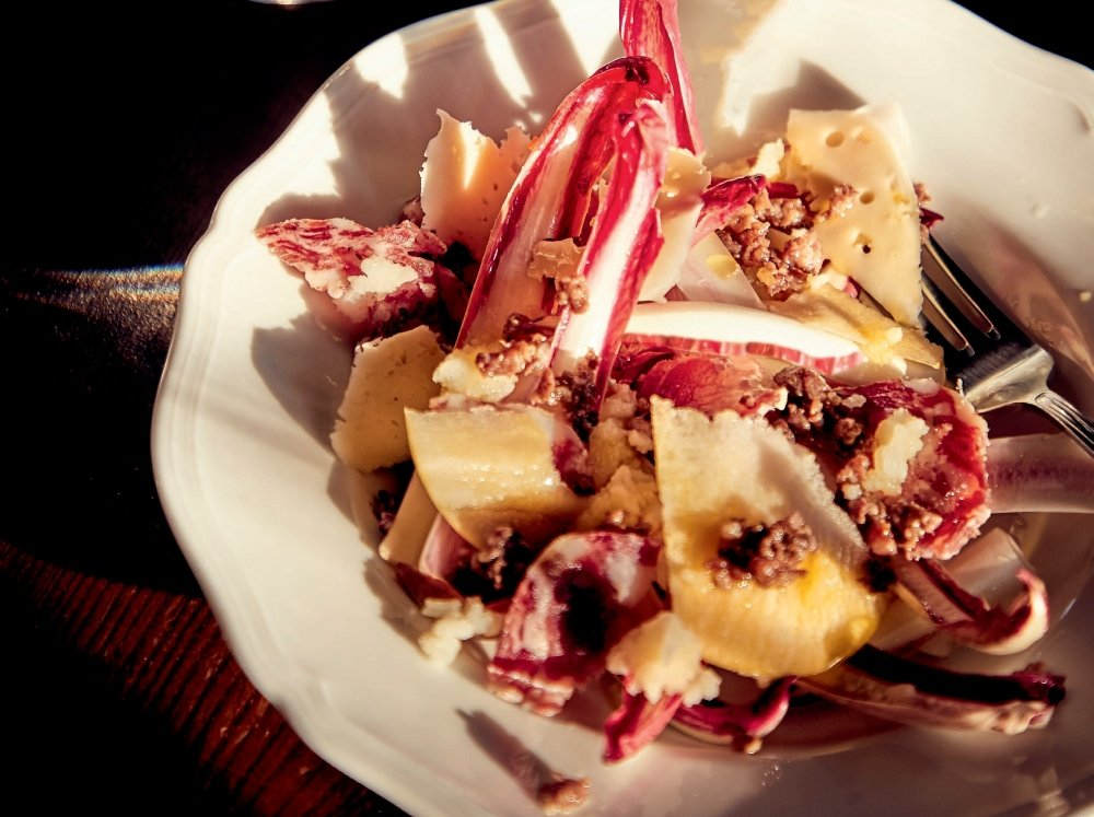 Rosa Di Gorizia, Apple, And Horseradish Salad 1