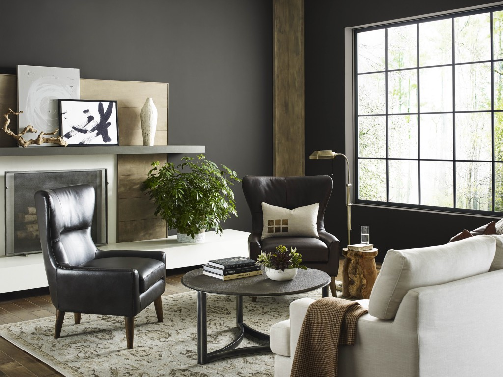 Sherwin Williams Urbane Bronze Sw 7048 Living Room