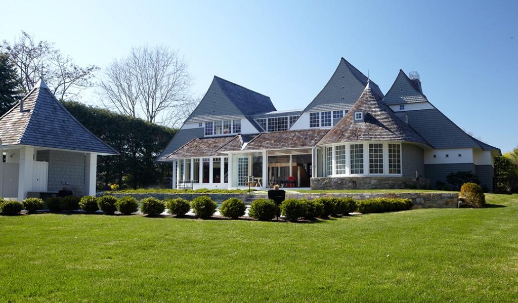 Westport Mansion Exterior