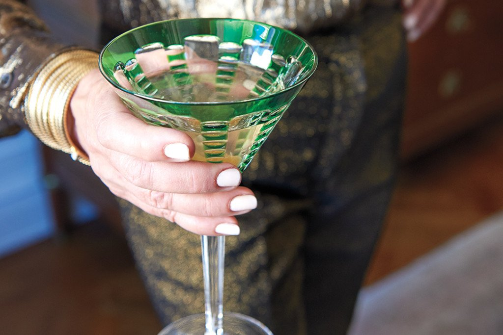 Recipe for a Cardamom Ginger Martini
