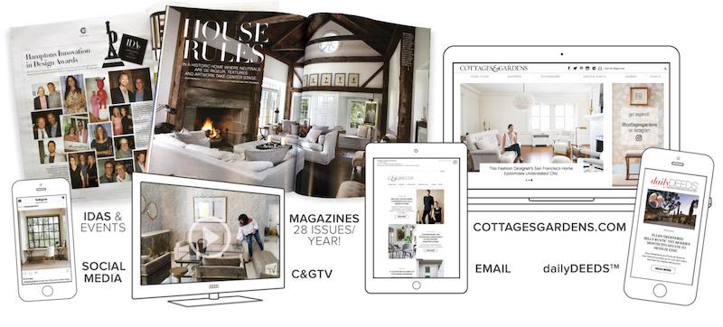 C&G Media magazines, design guides, websites, enews