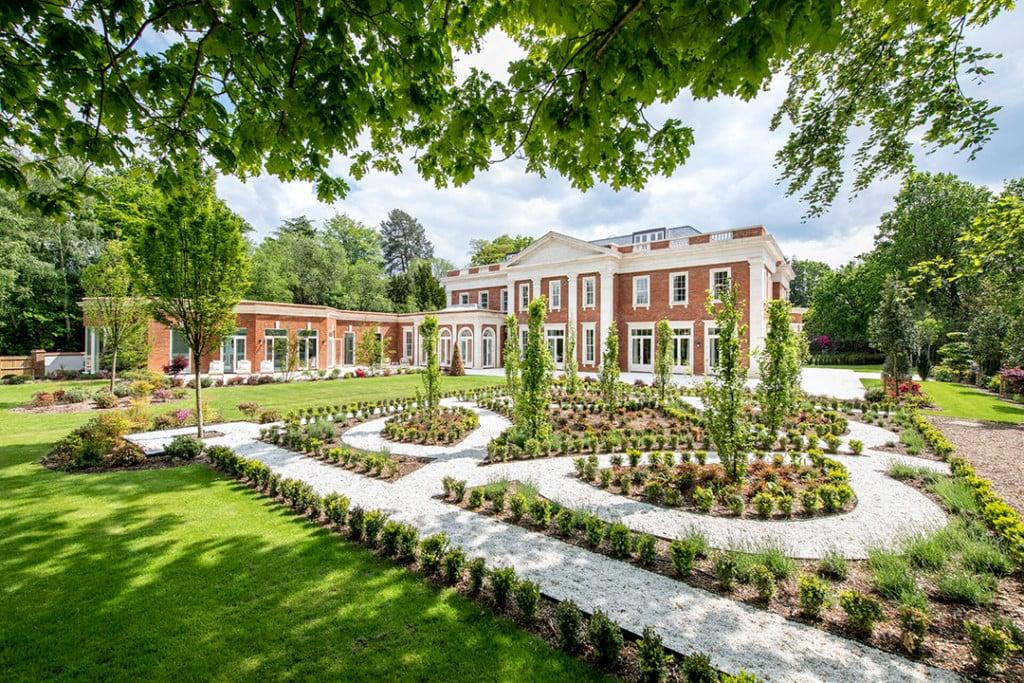 English Gardens at an Estate near Windsor