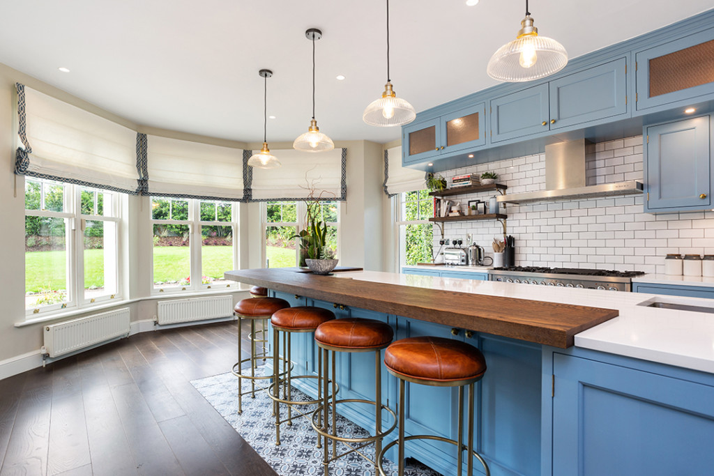 Powder Blue Kitchen Actress in Saoirse Ronan's Home