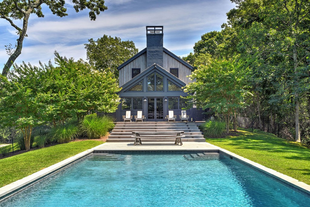 Pool at Ellen Pompeo's Sag Harbor Home