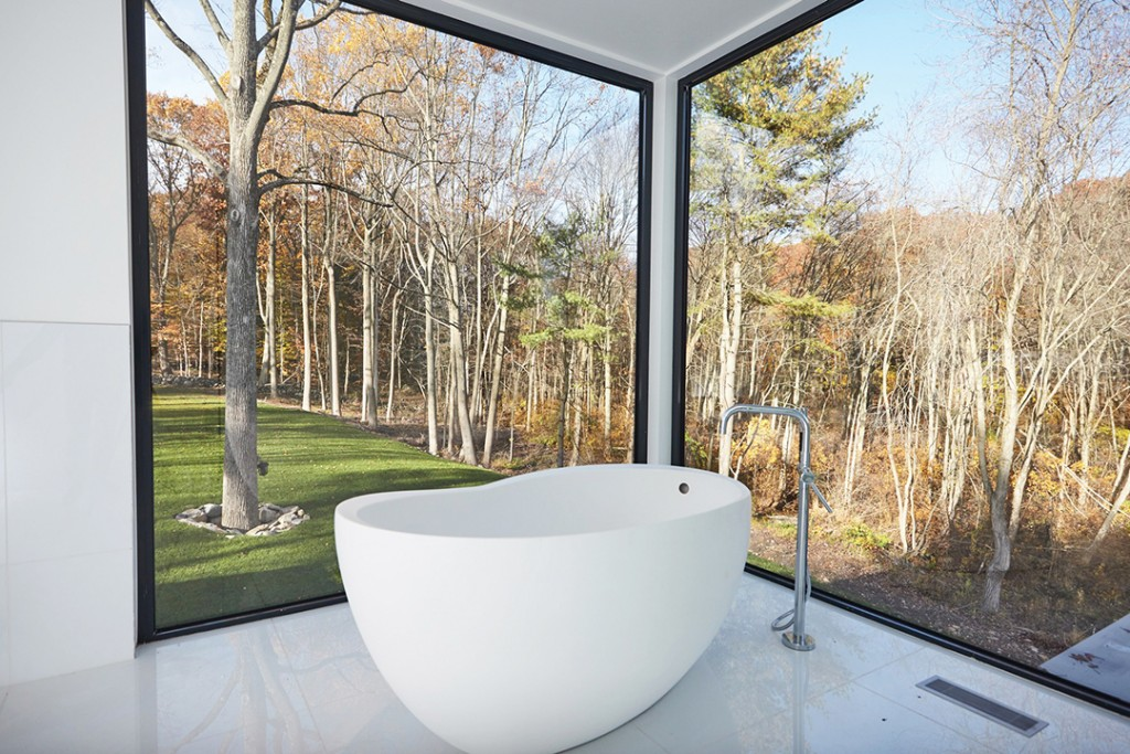modern Westport home bath