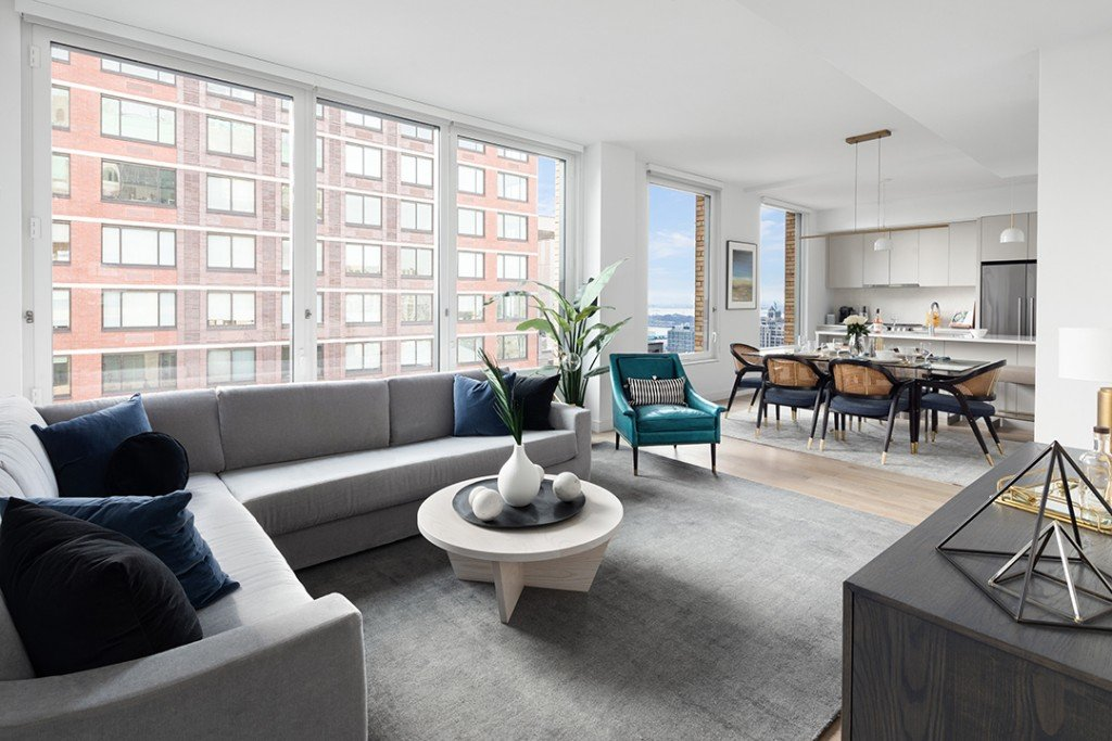 Most Expensive Rental Brooklyn Lists At Buzzed About Pierrepont Living Room B