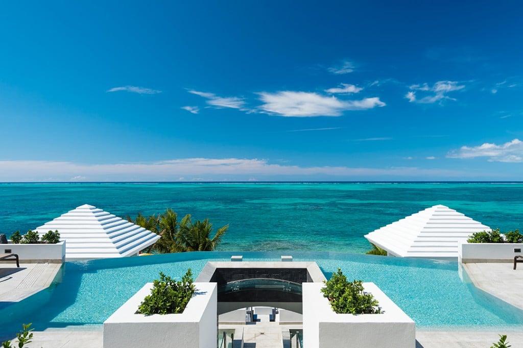 Oceanfront Turks and Caicos Villa Ocean View