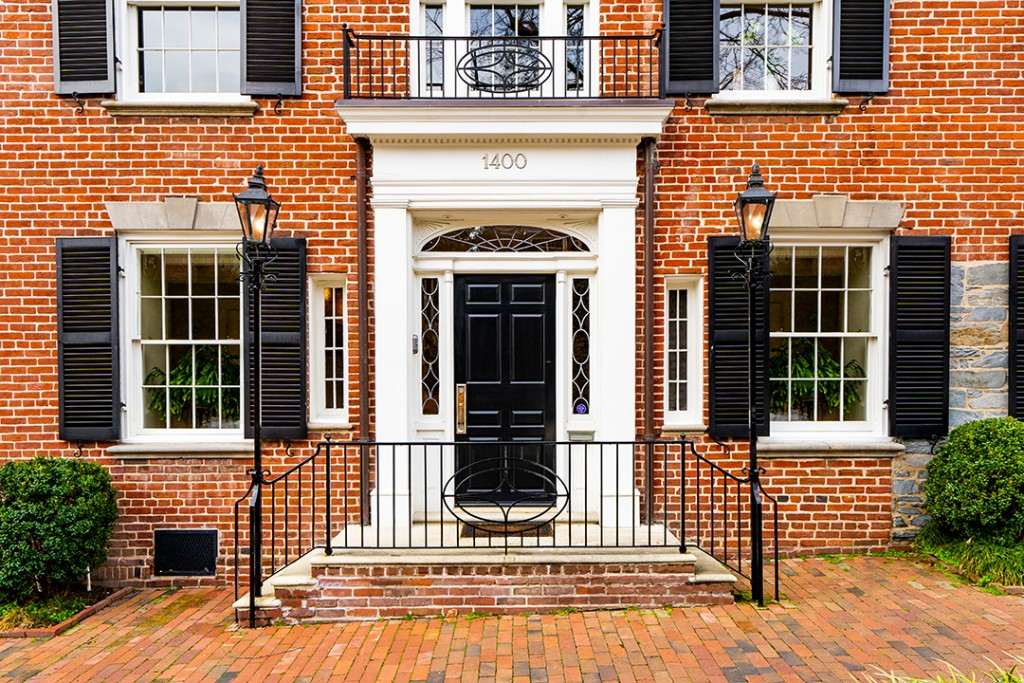 John F Kennedy Former Washington Dc Home For Sale Facade