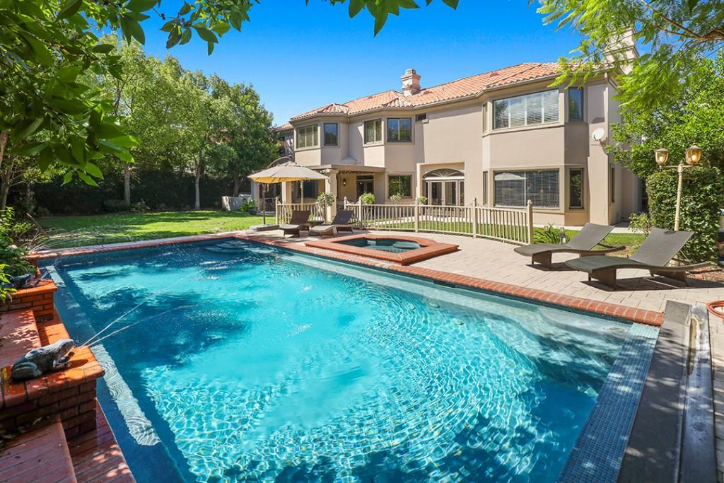 Prince Jackson Calabasas Home Pool