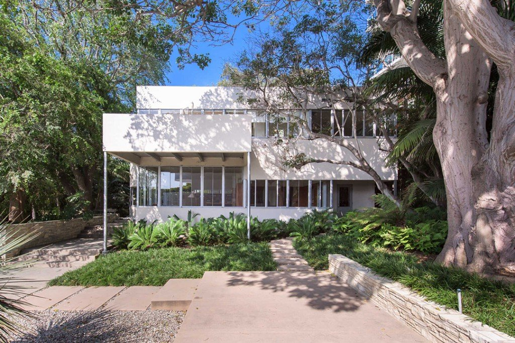 Richard Neutra Designed Stunner With Hollywood History Lists Santa Monica Architecture Featured