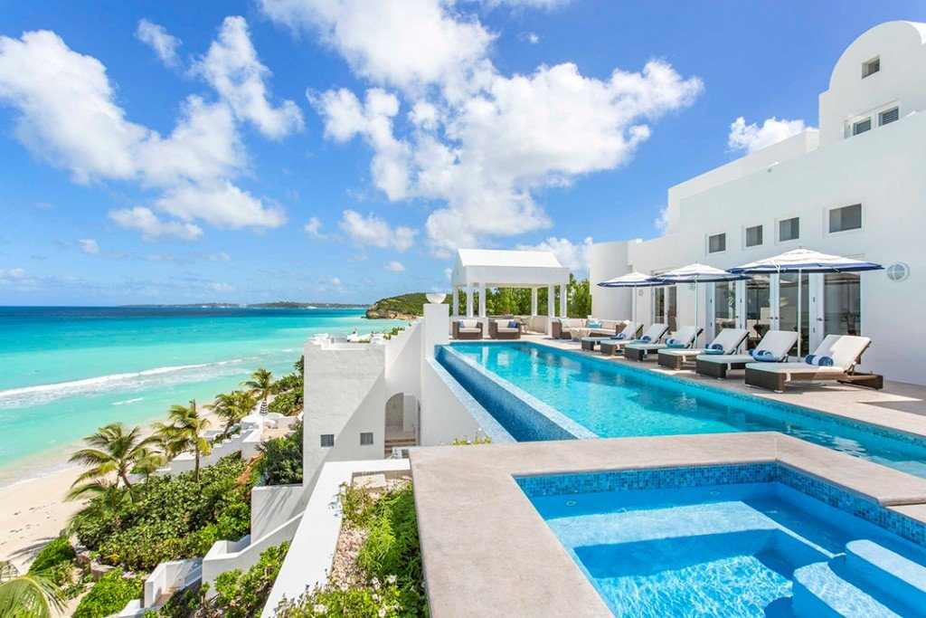 A Dreamy Caribbean Compound With Three Villas Lists For 20m Pool