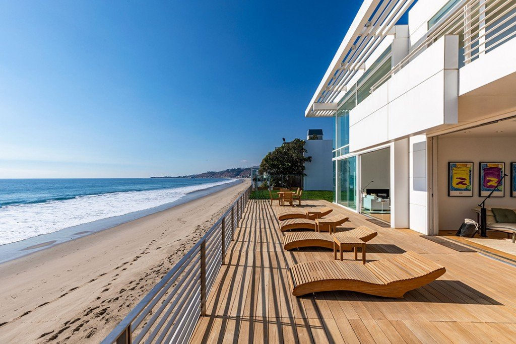 Eli Broad Lists 75m Malibu Home On Billionaires Beach Patio