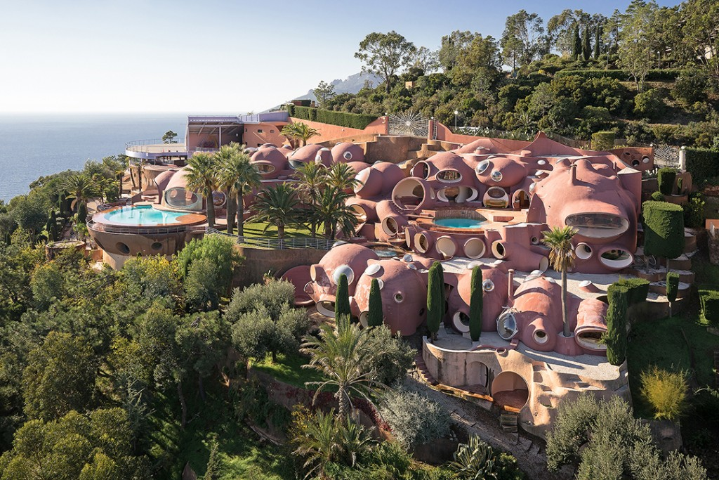 High Fashion Bubble Palace Near Cannes Awaits A Buyer Exterior