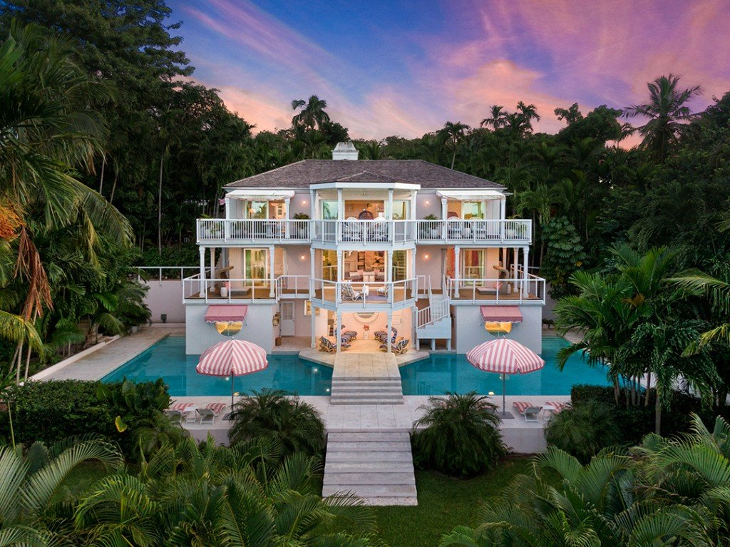 Prestigious Bahamas Getaway Where Jackie O Vacationed Hits The Market Exterior
