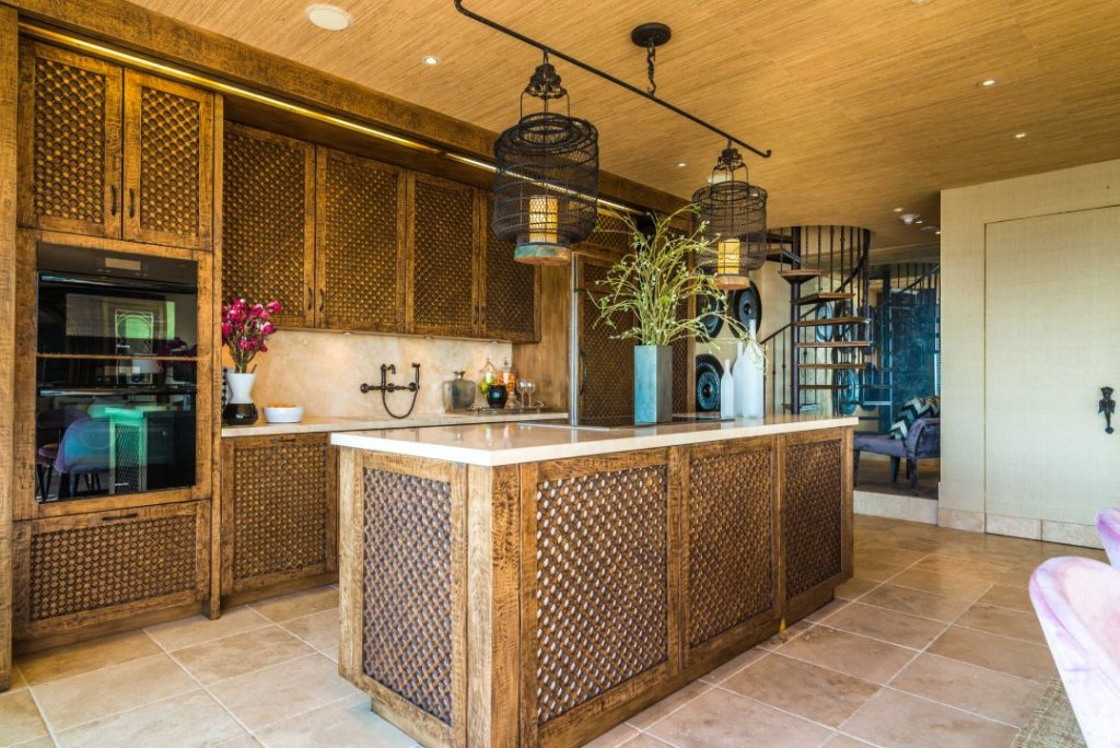 Cher West Hollywood Sierra Towers Kitchen