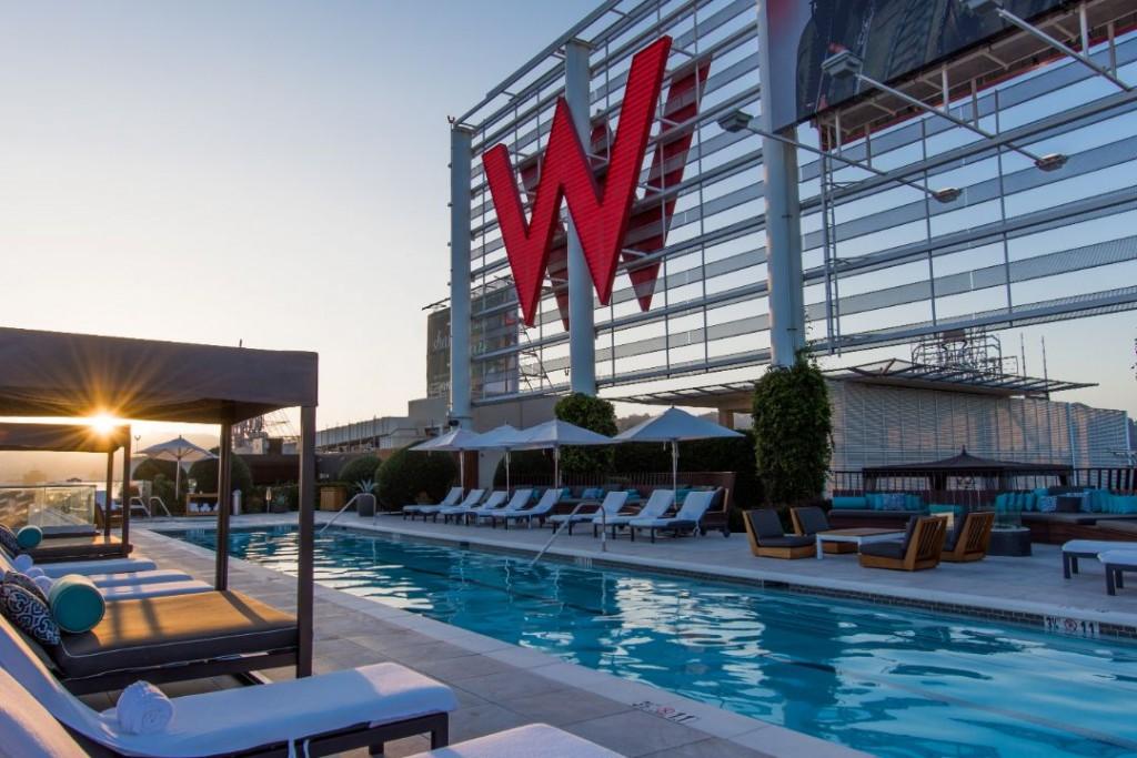 W Hollywood Hotel Marcedes Lewis 11
