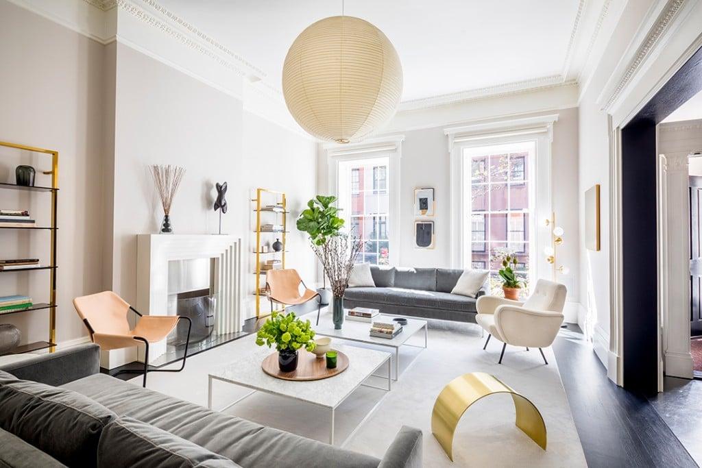 Meryl Streeps Stunning Former Greenwich Village Townhouse Asks 22 5m Living Room