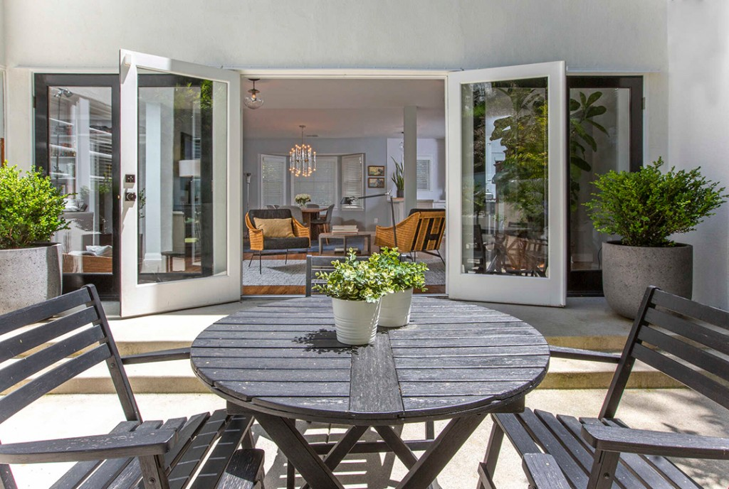Old Hollywood Actor Burt Lancasters Custom Built Home Hits The Market Porch