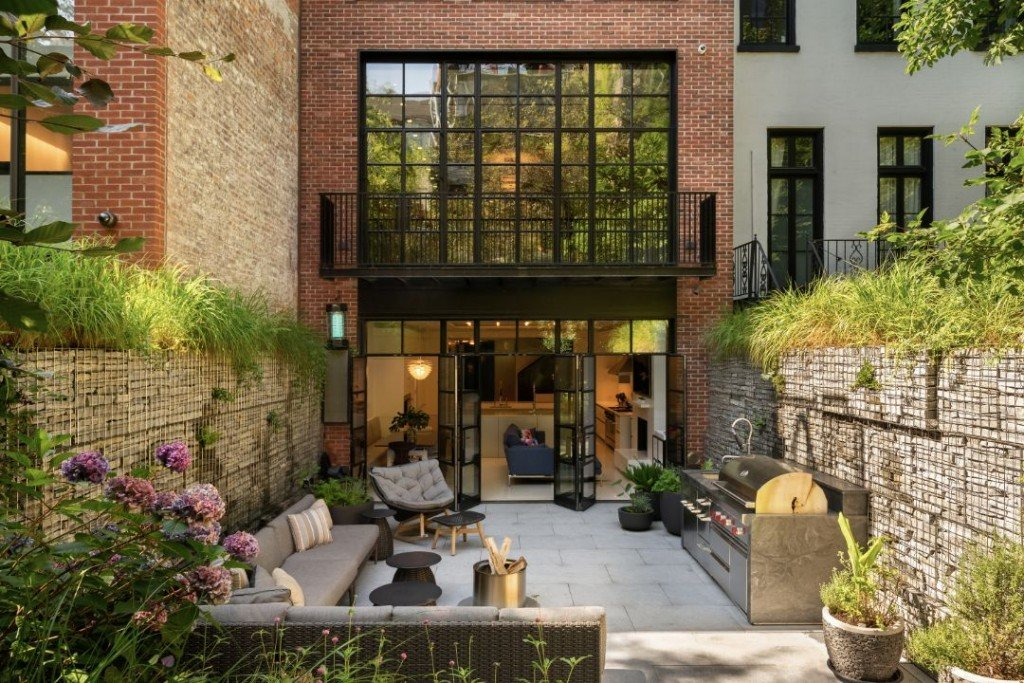 St Lukes Place West Village Townhouse Patio