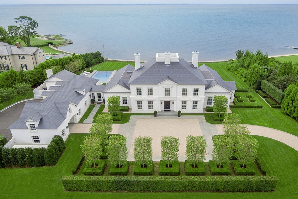 Stately Waterfront Home In Southport Ct Seeks 16 5m Facade