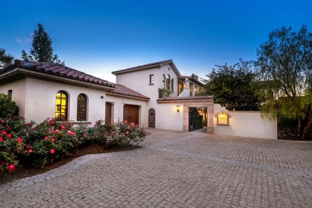 Sylvester Stallone La Quinta Home Exterior