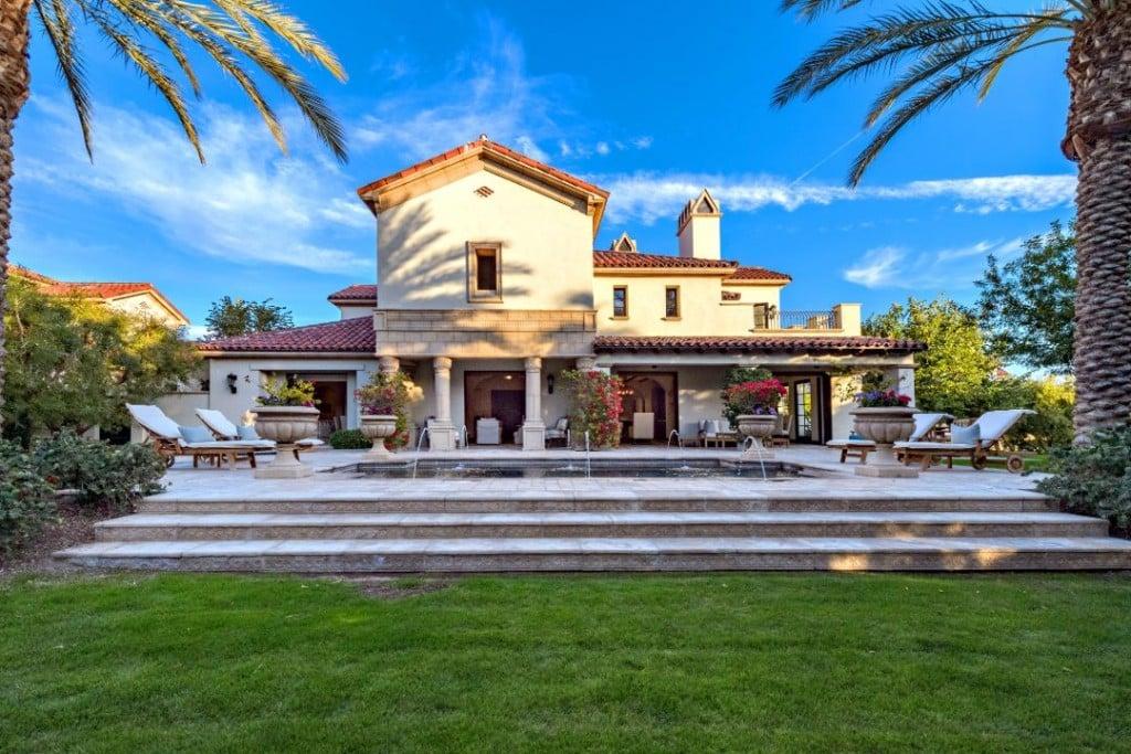 Sylvester Stallone La Quinta Backyard