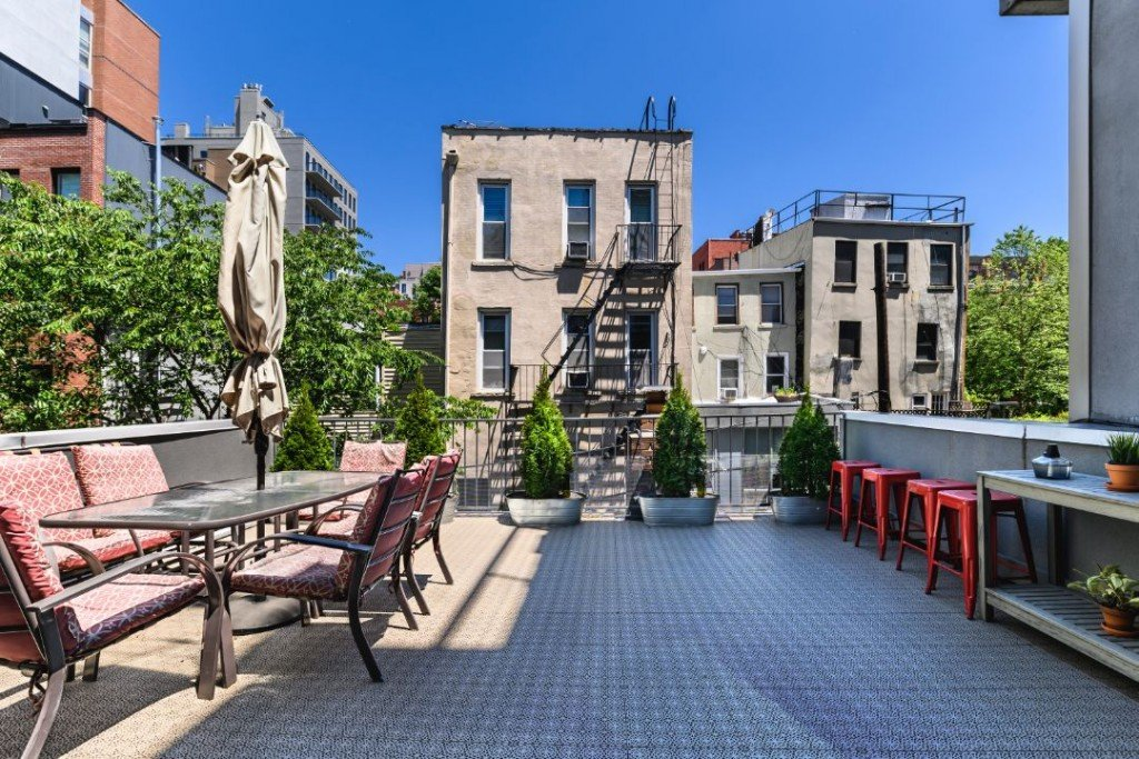 Al Capone Park Slope Childhood Home Terrace