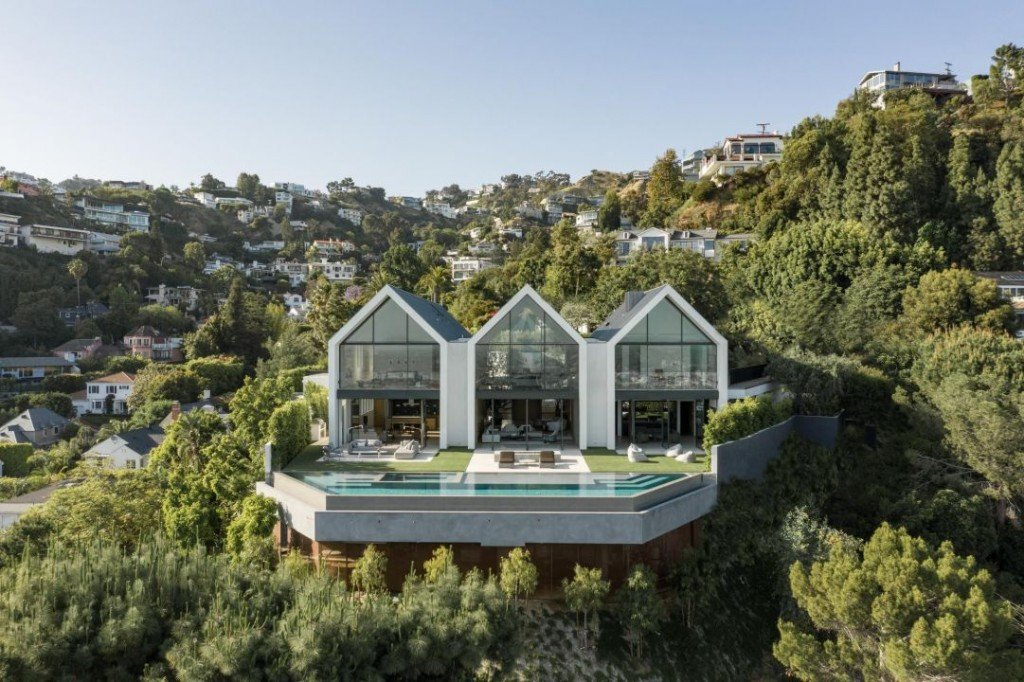 Hollywood Hills Modern Barn Exterior I