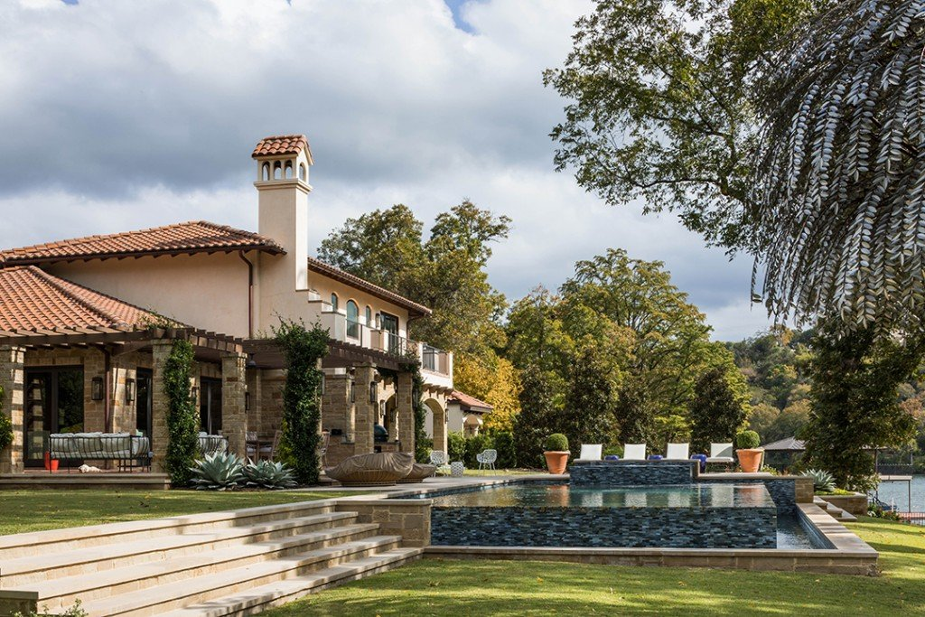 Michael Herd And Bumble Founder Whitney Wolfe Herd List Lavish Austin Estate Cabana