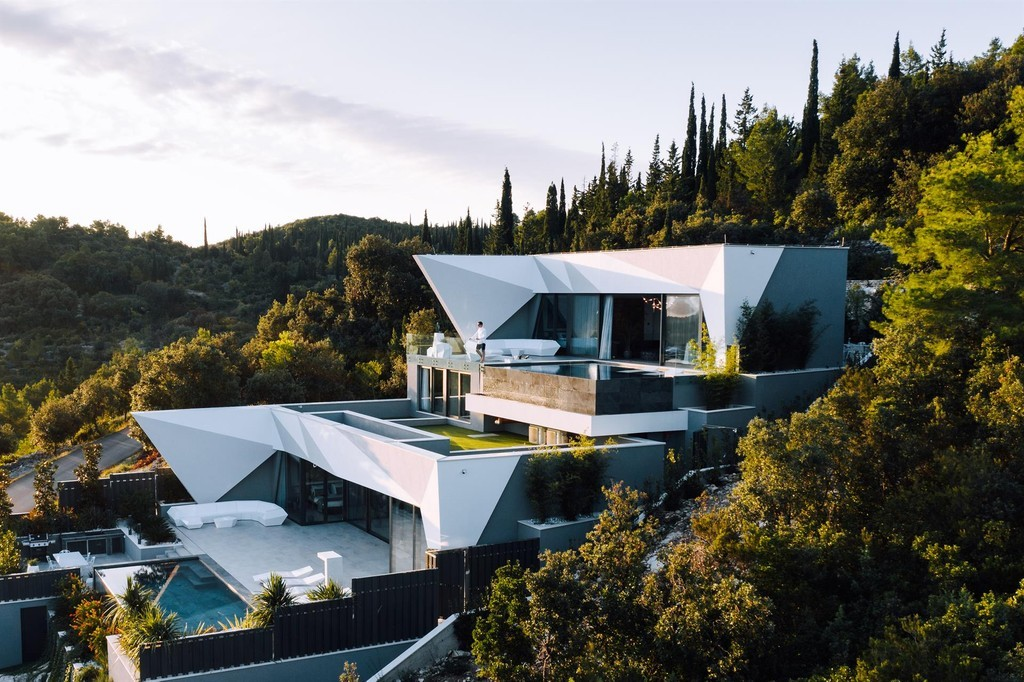 Tour An Architectural Masterpiece Listed On A Dreamy Island In Croatia View Exterior