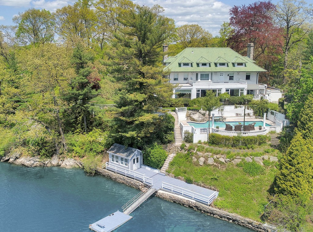 Waterfront Greenwich Home Decked Out For Summer Fun Gets A New Price Tag
