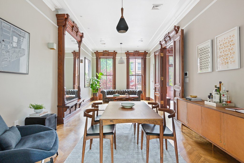 Childrens Book Author Lists A Fairytale Worthy Restored Bed Stuy Brownstone Living Room C