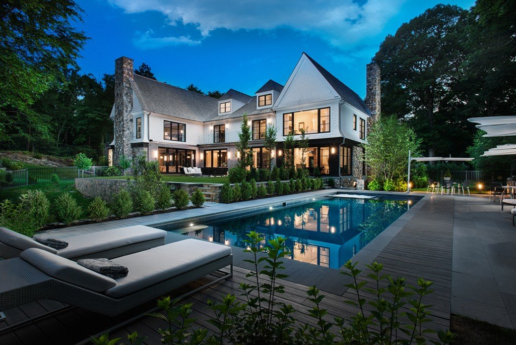 Greenwich Mansion Mixing European Elegance With Modern Flair Wants 10 8m Pool