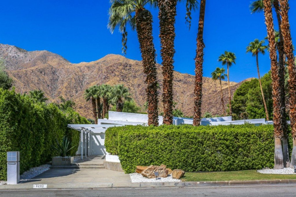 Lawford Kennedy Estate Palm Springs Hedges