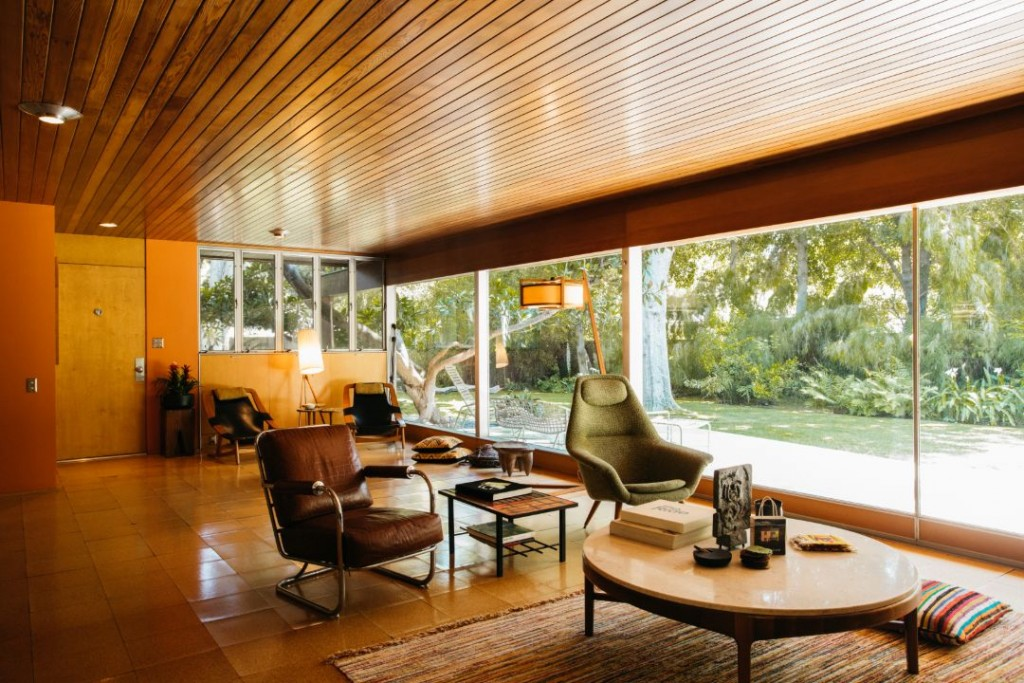 Neutra Case Study 13 Pasadena Living Room