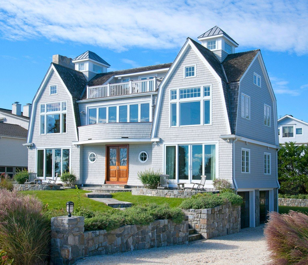 Rent Or Buy This Stunning Nantucket Style Home On Saugatuck Island Westport Facade