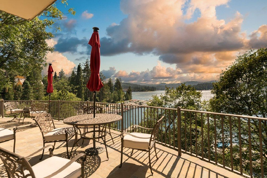 Sammy Hagar Van Halen Lake Arrowhead Home Waterfront Patio