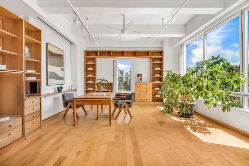 Susan Sarandon Chelsea Duplex Home Office