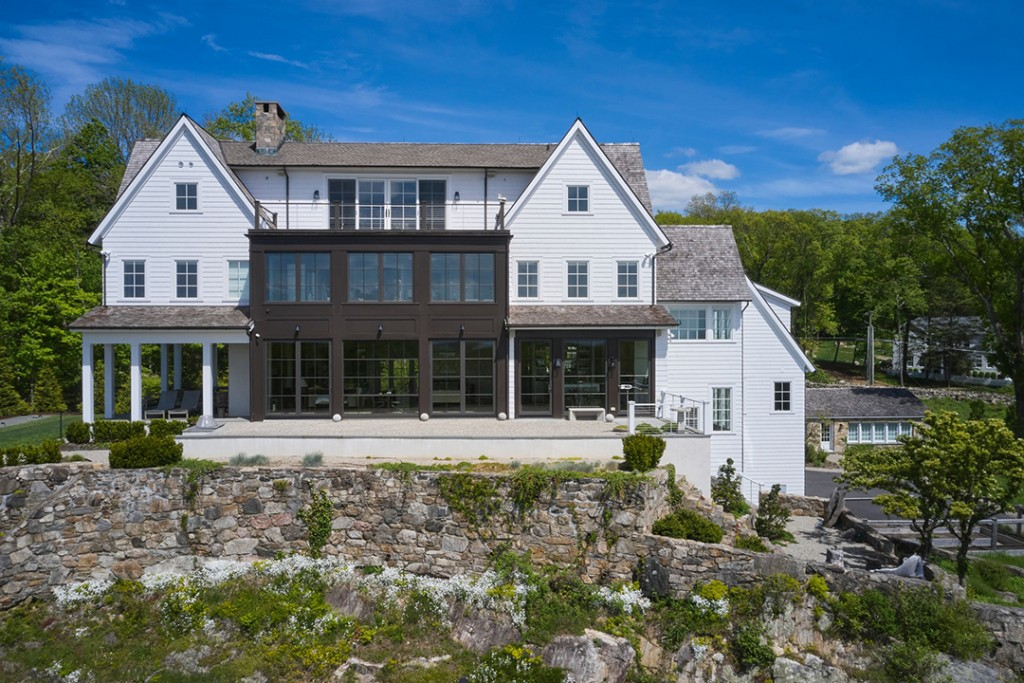 Architect Vincent Falotico Of Brooks Falotico Lists Modern Farmhouse Ridgefield Home Exterior B