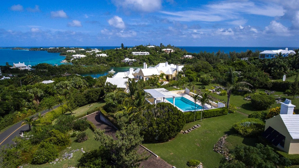 Dream Bermuda Home In Sought After Tuckers Town For Sale 8 8m Aerial C