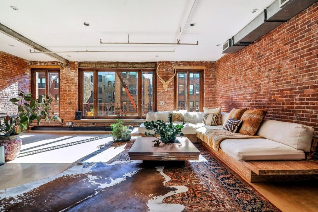 Vanessa Carlton Soho Loft Living Room Couch