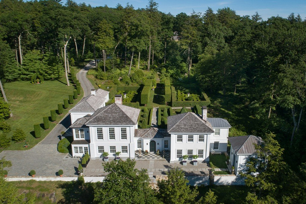 Classic Elegance Shines At This 5 9m Kent Ct Home Dubbed Dover House Facade