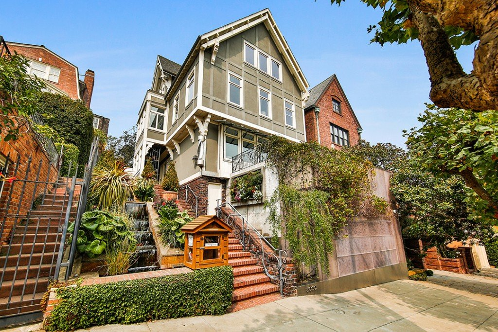 Former 2020 Presidential Candidate Tom Steyer Lists 11m San Francisco Home Exterior