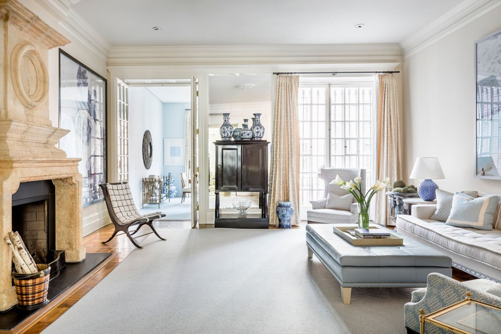 Upper West Side Brownstone On A Storied Block Asks 16 5m Living Space