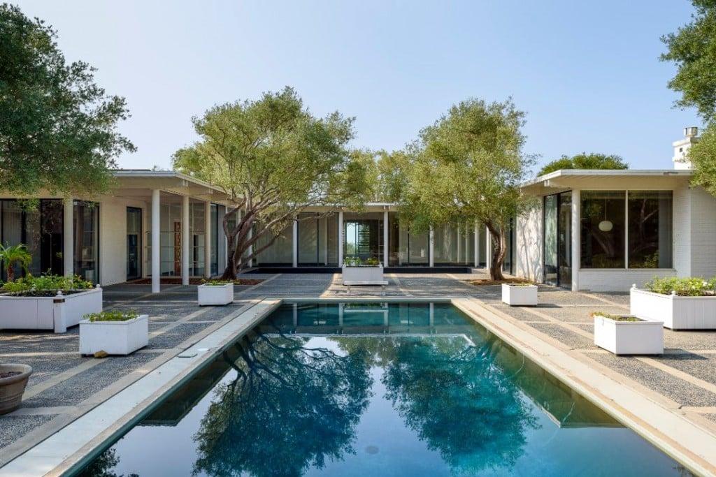 Erdman House Montecito Pool III