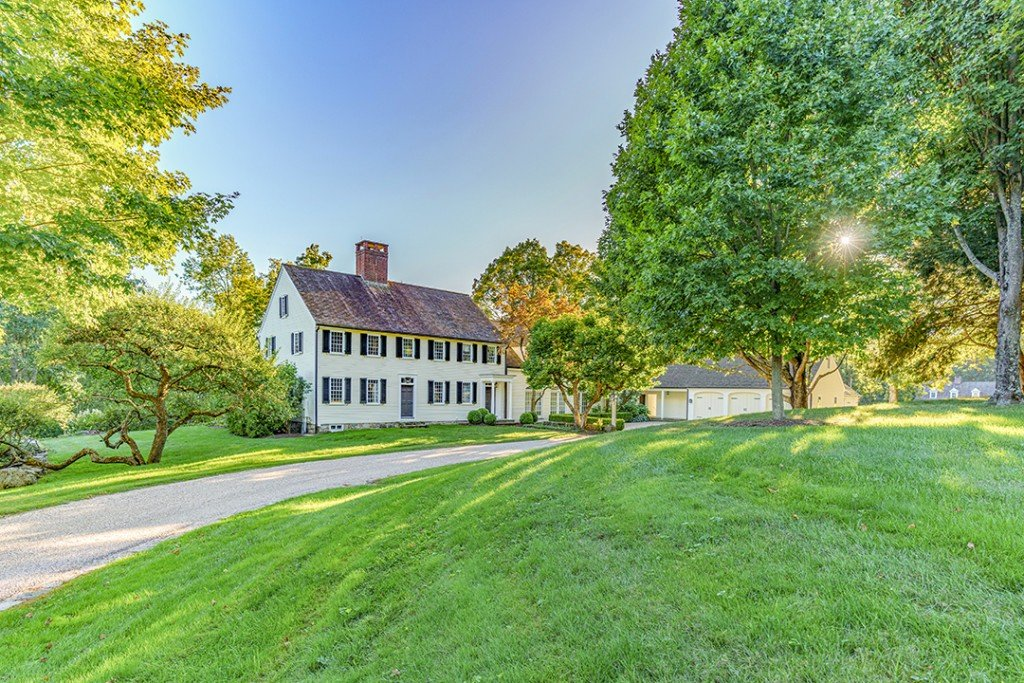 Greyledge Estates Colonial Mansion Restored By All Star Architects Wants 8m