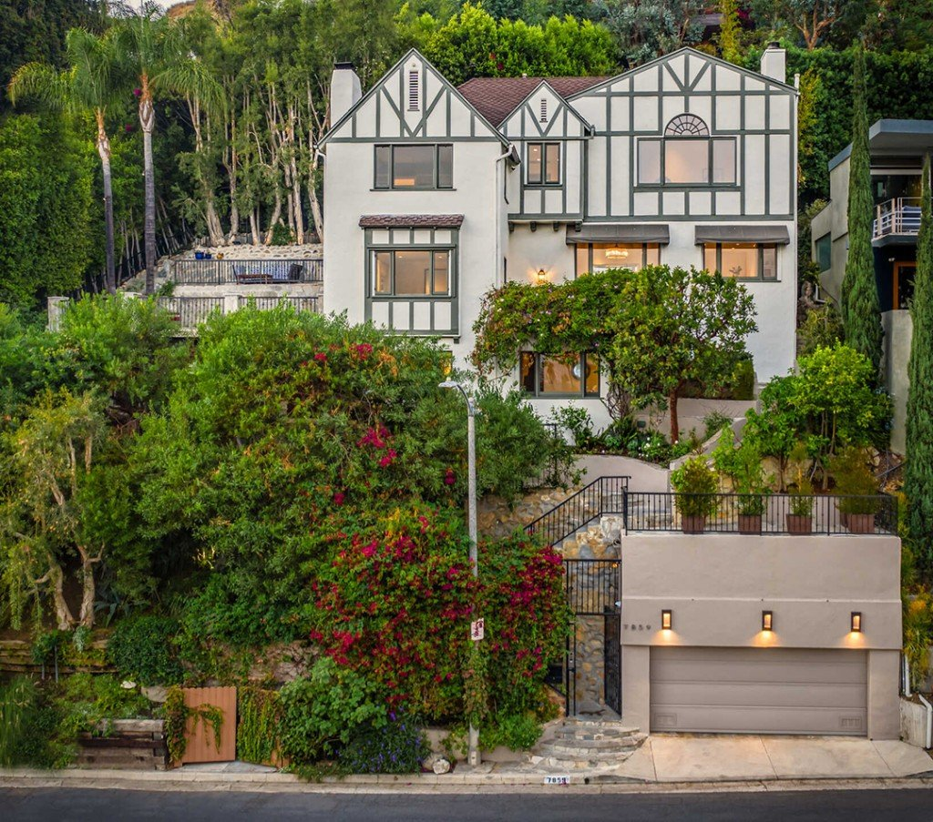 Horror Movie Director Lists Charming Hollywood Hills Home House
